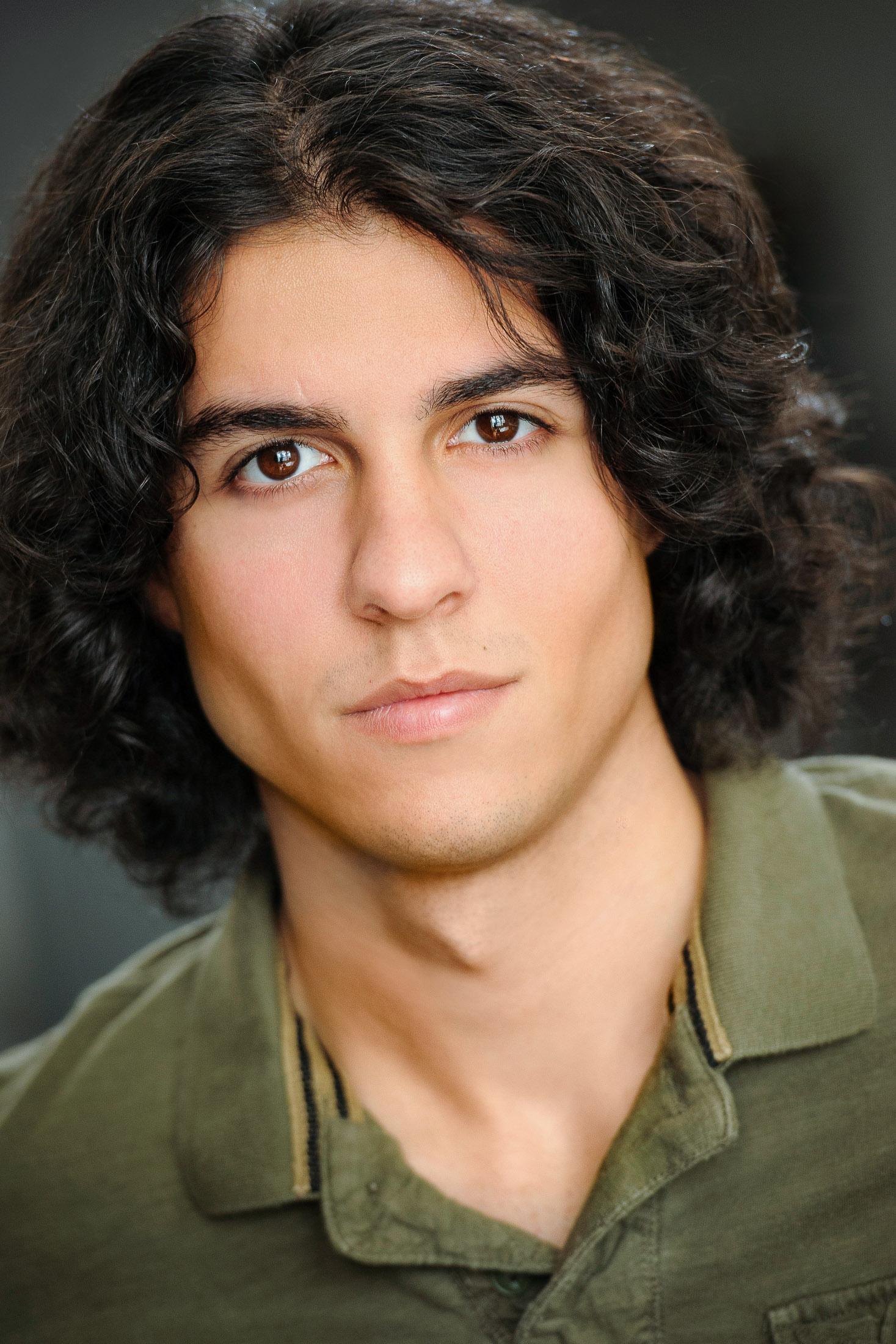 Headshot of Actor Ali S