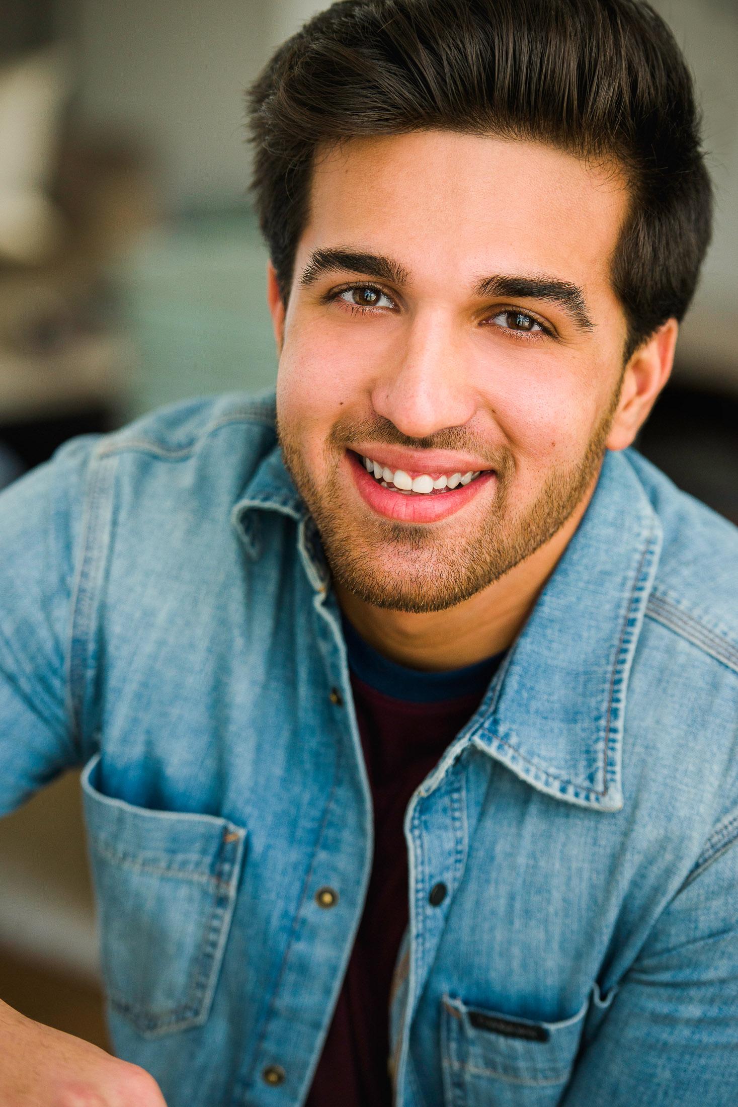 Headshot of Actor Asad H