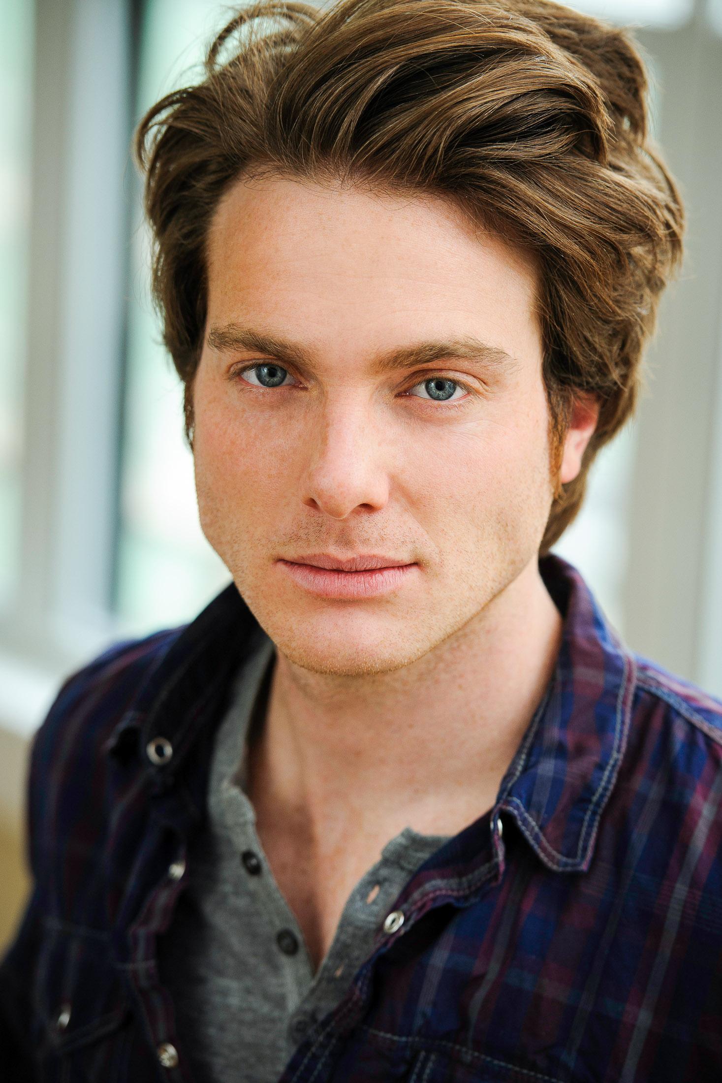 Headshot of Actor Bryan M